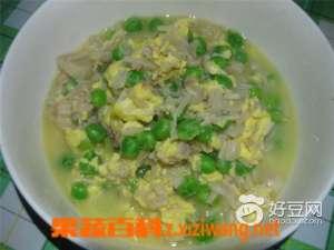 金针菇豌豆汤材料和制作步骤